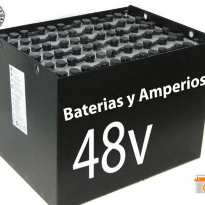 Batería carretilla 48 Voltios