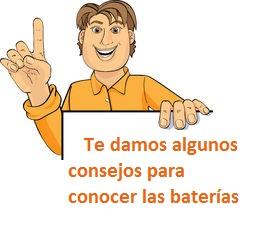 Consejos utilizar baterias