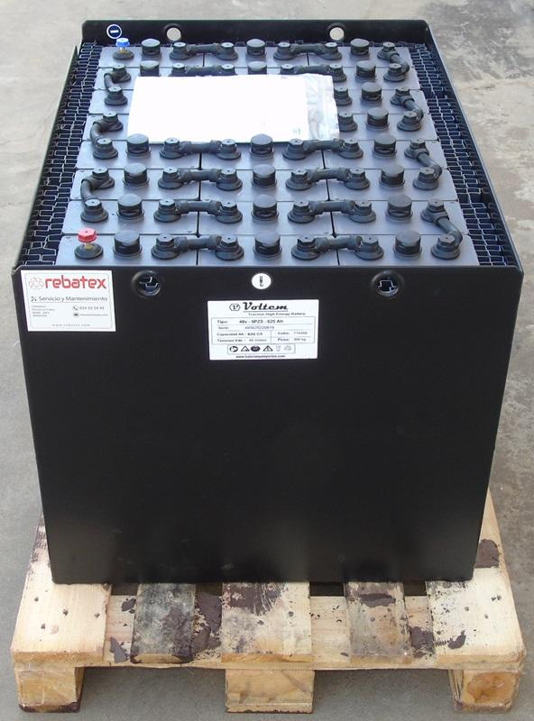 bateria empilhadeira 48v 625ah
