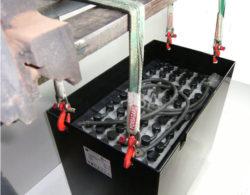 bateria carretilla- montaje