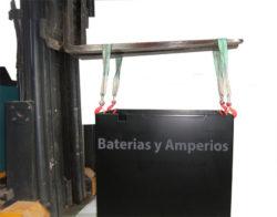 bateria carretilla-instalación