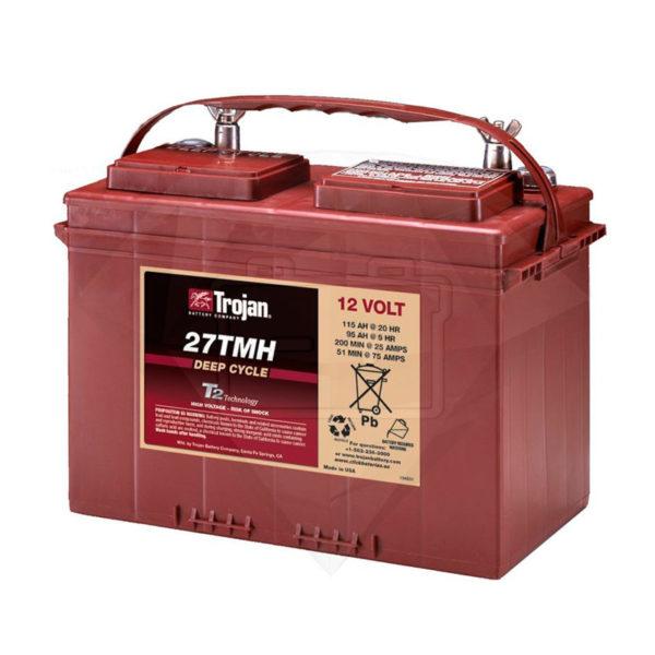 bateria ciclo profundo 12v 125 ah trojan
