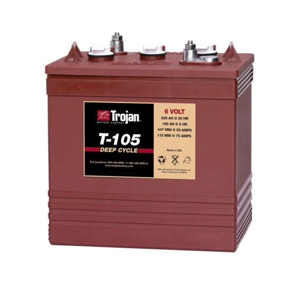 bateria ciclo profundo 6v 250ah trojan t105