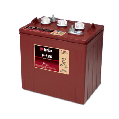 bateria ciclo profundo 6v 265ah trojan t125