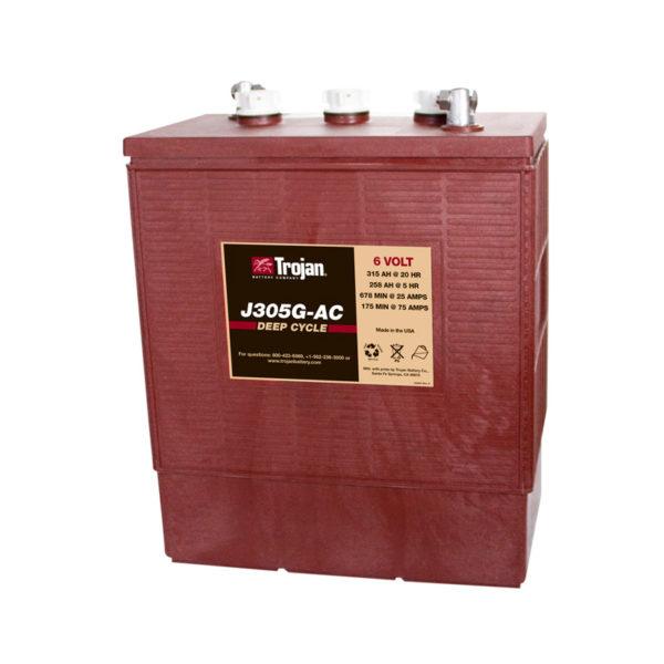 bateria ciclo profundo 6v 350ah trojan j305g