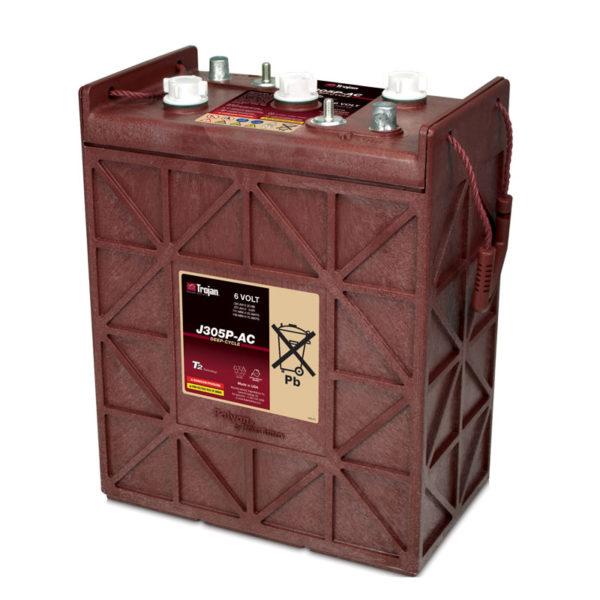 bateria ciclo profundo 6v 365ah trojan j305p