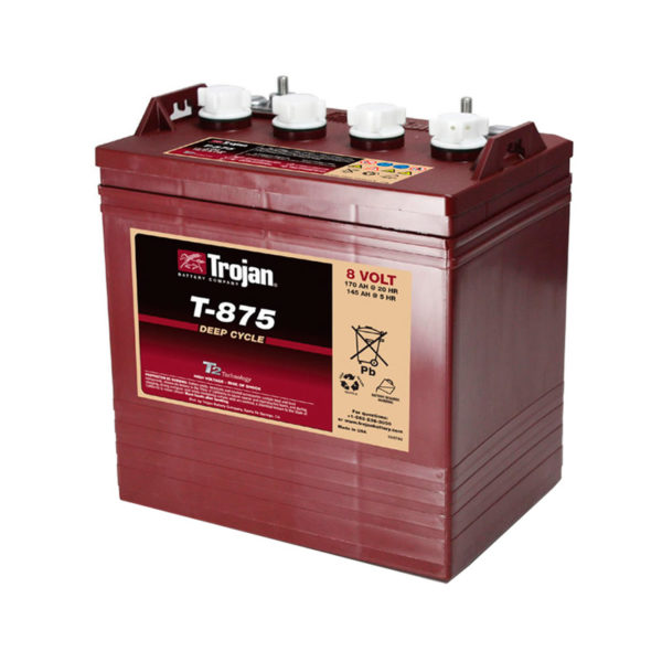 bateria ciclo profundo 8v 190ah trojan
