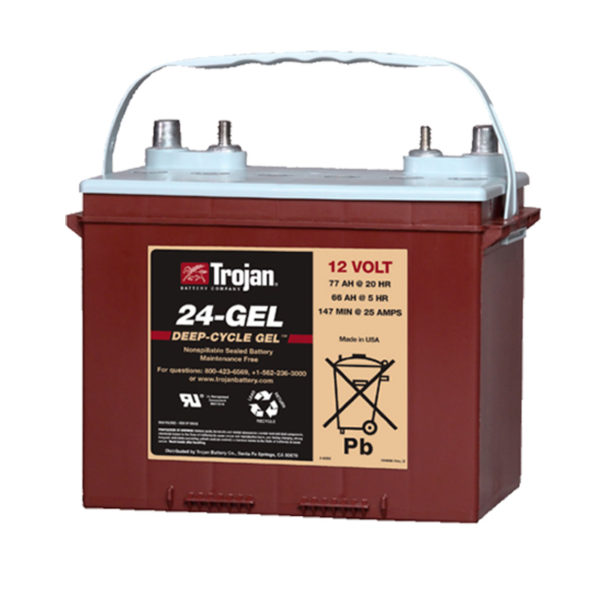 bateria gel 12V 84Ah trojan
