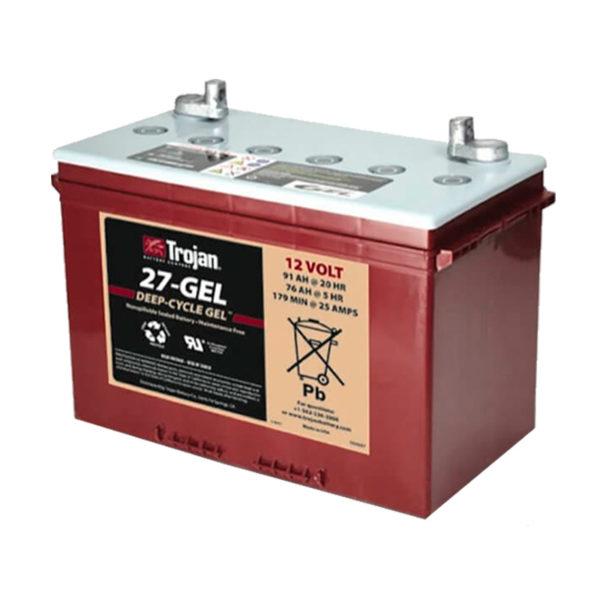 bateria gel 12v 90ah trojan