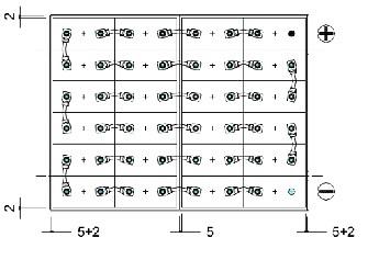 bateria traçao 48v 625Ah