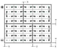 conexion bateria carretilla 80v 775ah