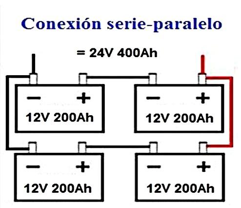 conexion serie-paralelo
