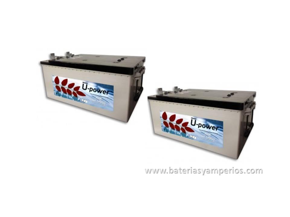 Bateria opzs transparente for Baterias placas solares