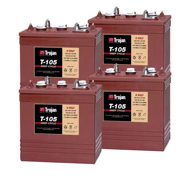 bateria ciclo profundo 24V 225ah trojan