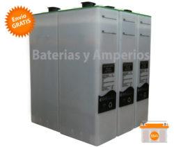 bateria solar 12v 3topzs