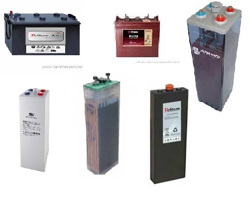 Tipos de bater as solares energ a solar y tipos - Tipos de pilas recargables ...