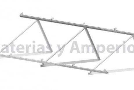 estructura aluminio para modulo solar