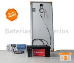kit solar para iluminacion