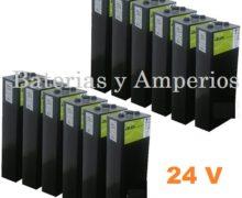 Bateria solar 24 V