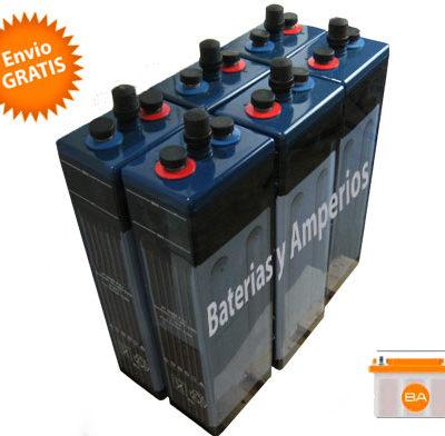 bateria solar opzs 12 voltios
