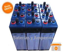 bateria solar opzs 24v