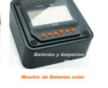 Monitor informacion bateria solar