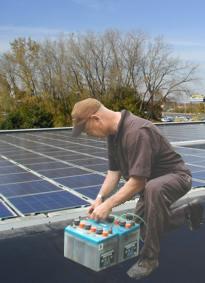 Reparar bateria solar
