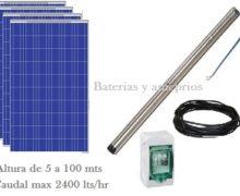 GRUNDFOS kit bomba solar