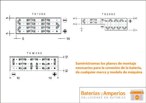planos conexion bateria 24v 250ah