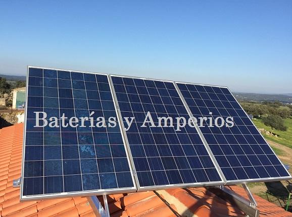 Conexi n de una placa solare en serie o paralelo for Baterias de placas solares