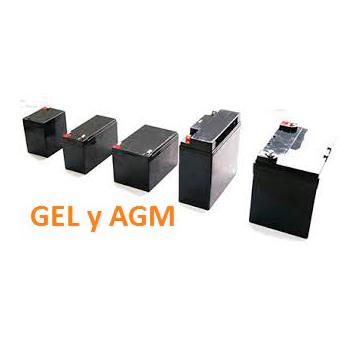 Baterías de Gel y AGM, Sin Mantenimiento