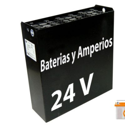 Batería carretilla 24 voltios