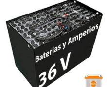 Batería carretilla 36 voltios