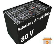 Batería Carretilla 80 voltios