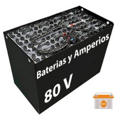 Bateria Carretilla 80 voltios