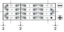 bateria de tracción 24v 180ah