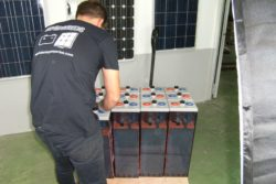 transporte de bateria solar Opzs