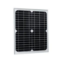 placa solar 12v 20w monocristalino