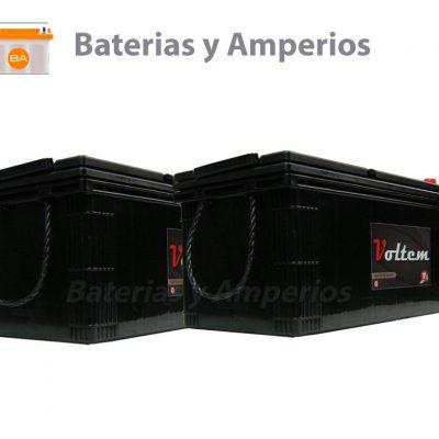 bateria 24voltios 180ah para camiones
