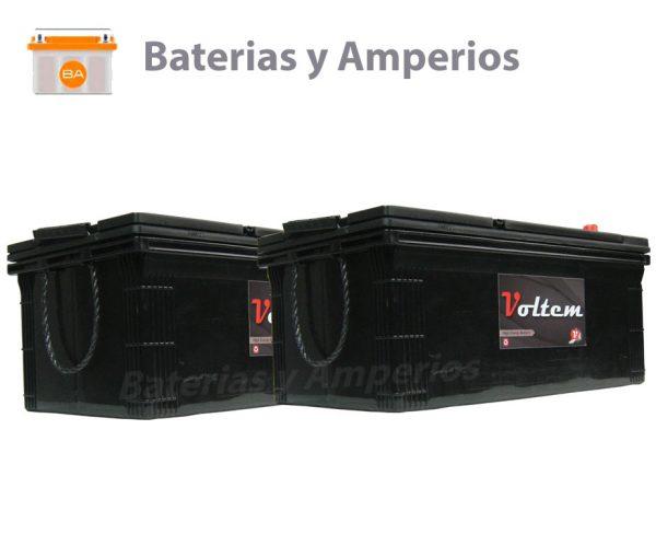 bateria 24v 220ah para vehiculos industriales