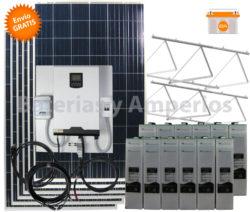 kit solar con maximizador