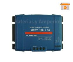 regulador de carga blue solar 100voltios 30amperios