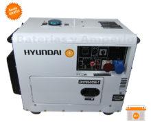 generador eléctrico diesel hyundai dhy8000set