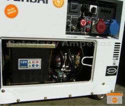 generador electrico diesel trifasico hyundai 7Kw