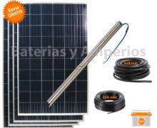 kit bombeo solar grundfos 100 metros