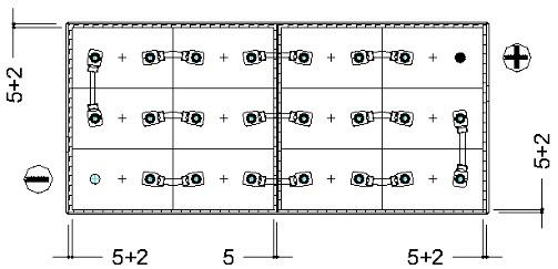 conexion bateria traccion 24v 690ah