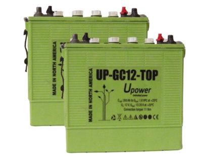 bateria semi traccion 24V Upower GC12 Top
