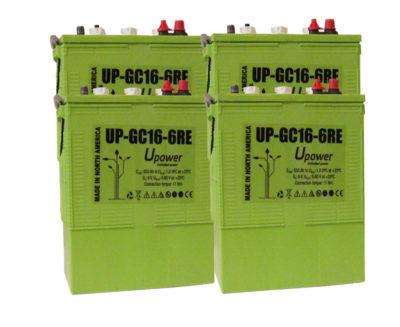 bateria semi traccion upower gc16-6re