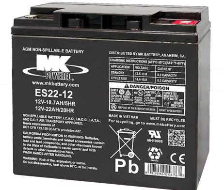 bateria agm 12v 22ah