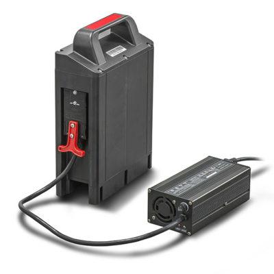 cargador bateria litio para traspaleta